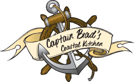 Captain Brad's Coastal Kitchen Logo