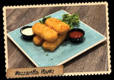 Mozzarella Planks