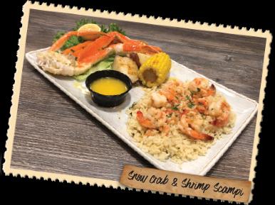 Snowcrab & Shrimp Scampi