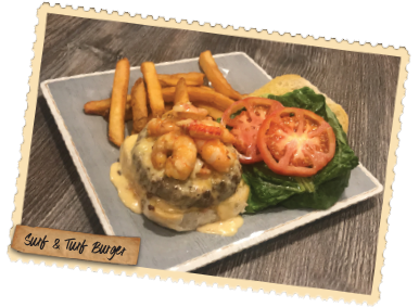 Surf & Turf Burger